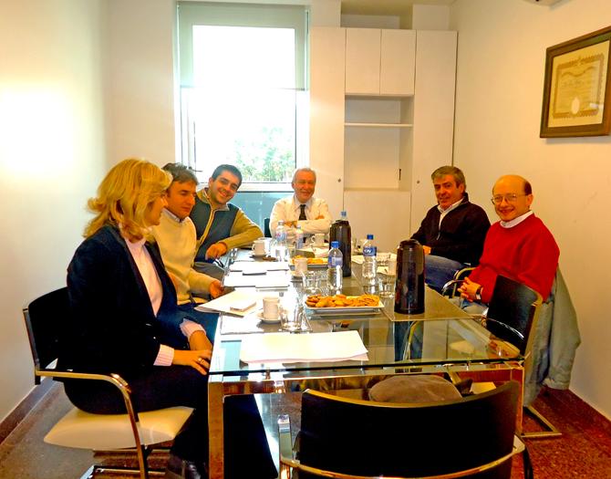reunión de trabajo Puntos de Consenso