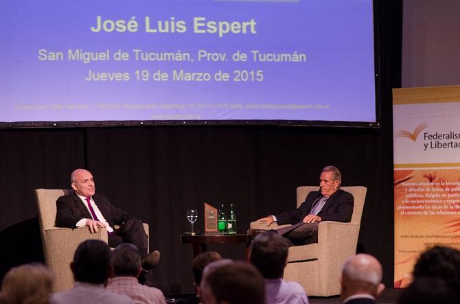 José Luis Espert. Populismo Industrial vs libre comercio.