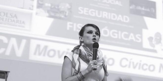 Gloria Alvarez en Tucumán