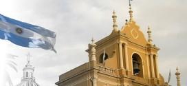 """Presentación del libro """"La Bandera del Templo de San Francisco: la insignia argentina más antigua""""."""