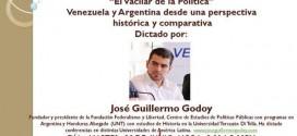 El presidente de Federalismo y Libertad disertará en Venezuela