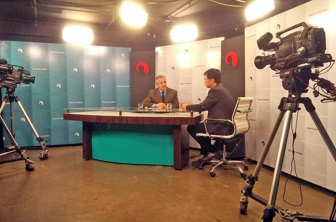 Entrevista a Enrque Huang, Secretario Comercial de la División Económica de la Oficina Comercial de Taiwan