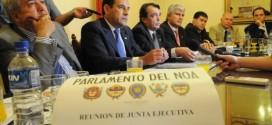 Parlamento del NOA: Efectividad casi nula
