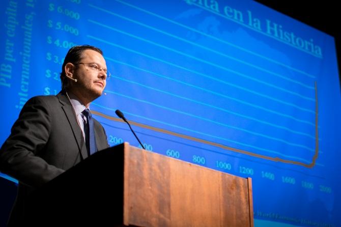 Juan Carlos Hidalgo, analista sobre América Latina del Cato Institute (Washington DC)