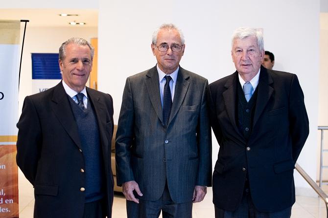 Miguel Blanco, Oscar Alonso y Miguel Mitre