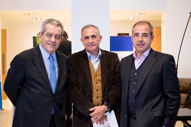 Miguel Blanco, Luis Villagran y José Ceballos