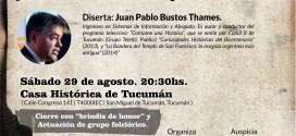 """Conferencia """"La declaración de la independencia y los valores de nuestros padres fundadores"""""""