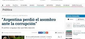 Entrevista de LA GACETA a Luis Alberto Lacalle, ex presidente del Uruguay