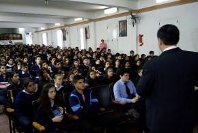 """El programa """"Educación para la Libertad"""" se dictó en el Colegio Guillermina"""