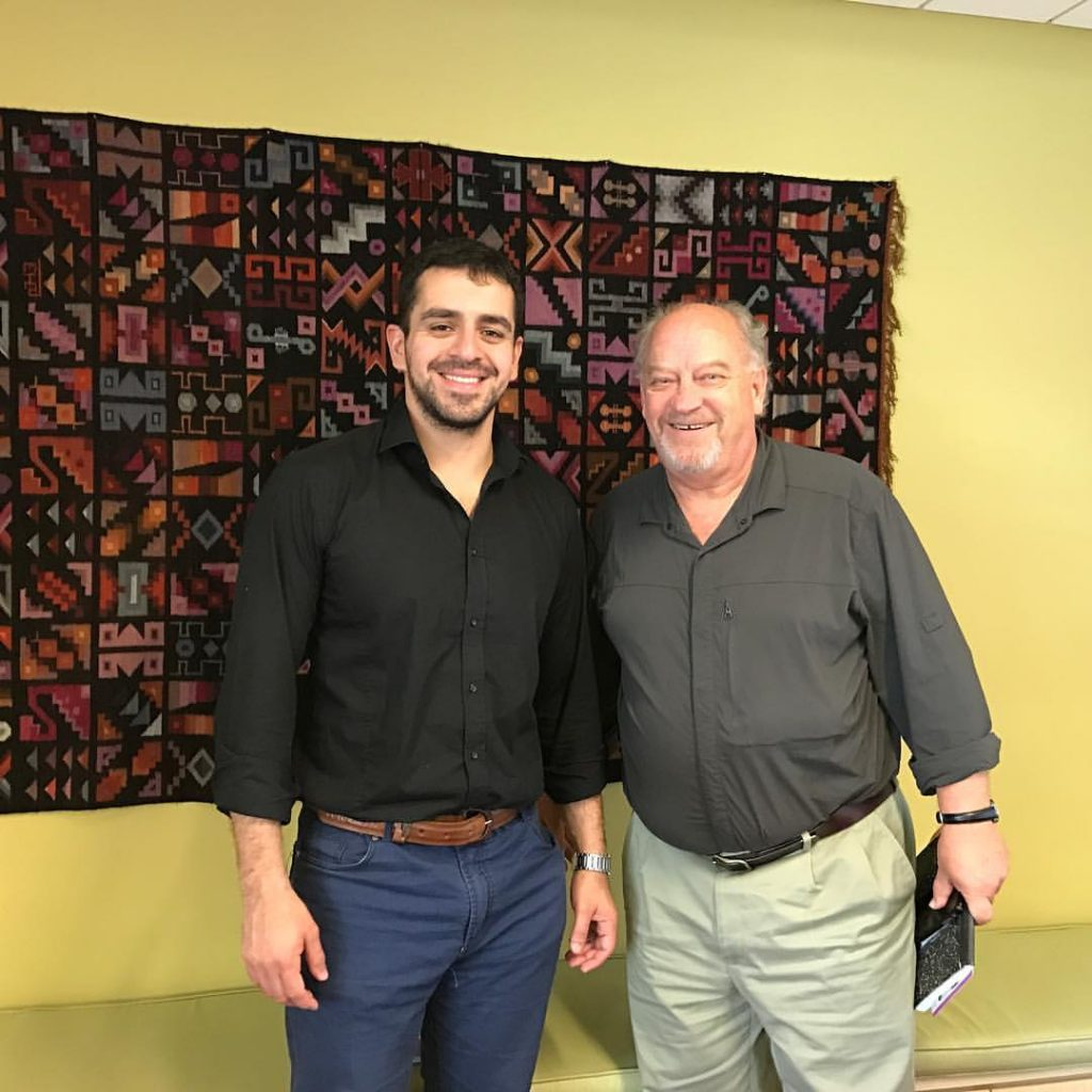 José Guillermo Godoy y Stephen Cox (Inter-American Foundation )