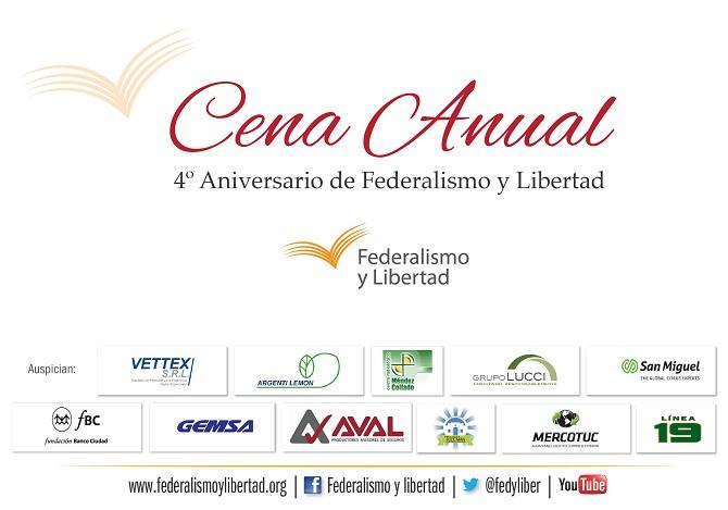 Federalismo y Libertad Cena Anual