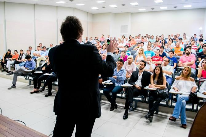 Javier Milei, economista