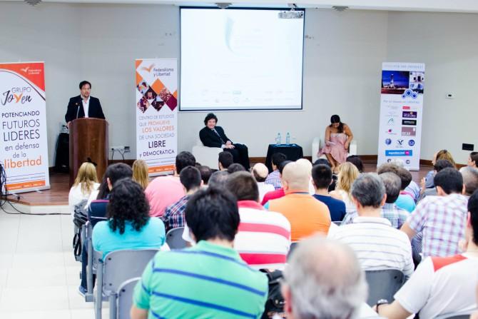 Javier Milei - Juan Manuel Agüero, coordinador de Proyectos Fundación Naumann - Federalismo y Libertad