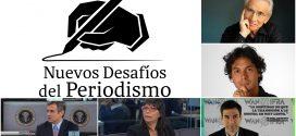 """Marcos Aguinis y destacados periodistas en la 2ª Edición del Foro """"Nuevos Desafíos del Periodismo"""""""