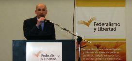 """La Fundación Federalismo y Libertad presentó oficialmente el Departamento """"Jorge Estrella"""""""