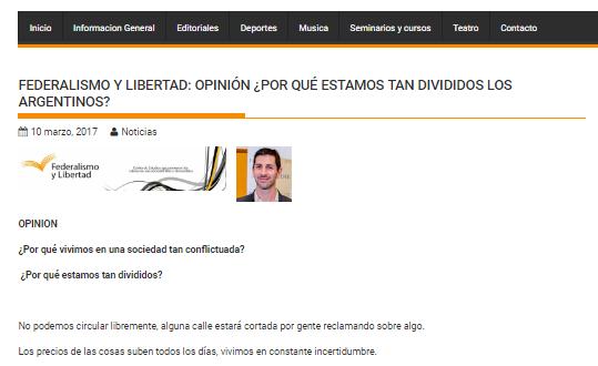 ¿Por qué estamos tan divididos los argentinos?
