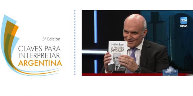 Tucumán:  José Luis Espert presentará su libro La Argentina Devorada