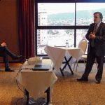 Aldo Abram en el lanzamiento del programa de Federalismo y Libertad en Jujuy