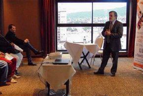 Aldo Abram en la apertura del Programa de Federalismo y Libertad en Jujuy
