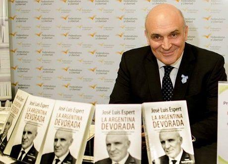 Santiago del Estero: José Luis Espert presenta su libro La Argentina Devorada