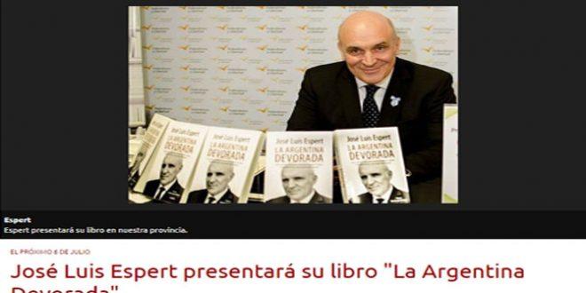 Nuevo Diario. Espert presenta su libro en Sgo del Estero