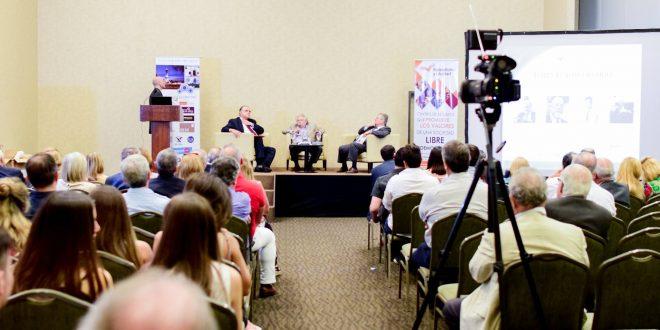 César Vidal y López Murphy en el foro 5° Aniversario de Federalismo y Libertad