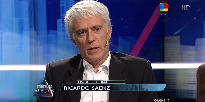 El Fiscal Ricardo Saénz disertará en Salta