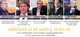 Presentación del libro en homenaje a José Ignacio García Hamilton