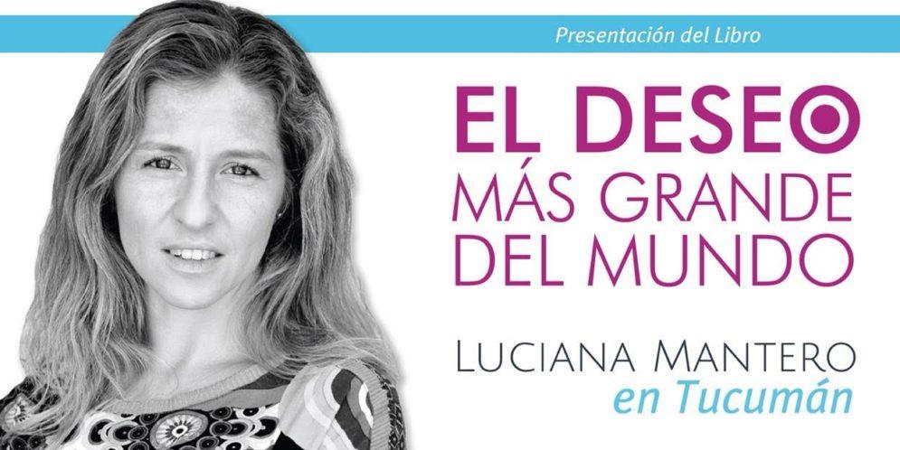 Luciana Mantero en Tucumán