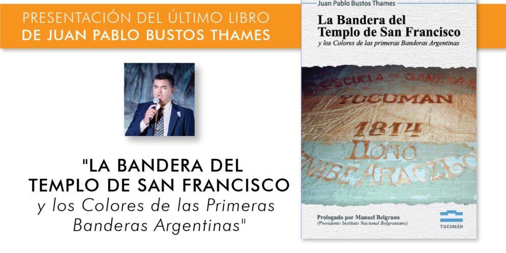 Presentación del último libro de Juan Pablo Bustos Thames