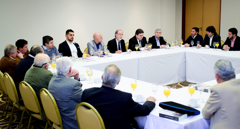 Reunión de empresarios con Javier González Fraga