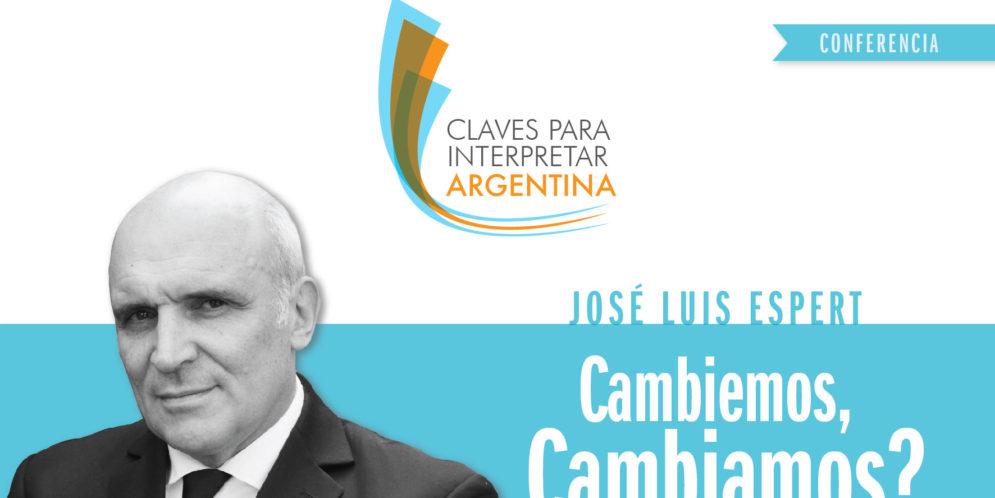 #JUJUY Conferencia por José Luis Espert: Cambiemos, cambiamos?