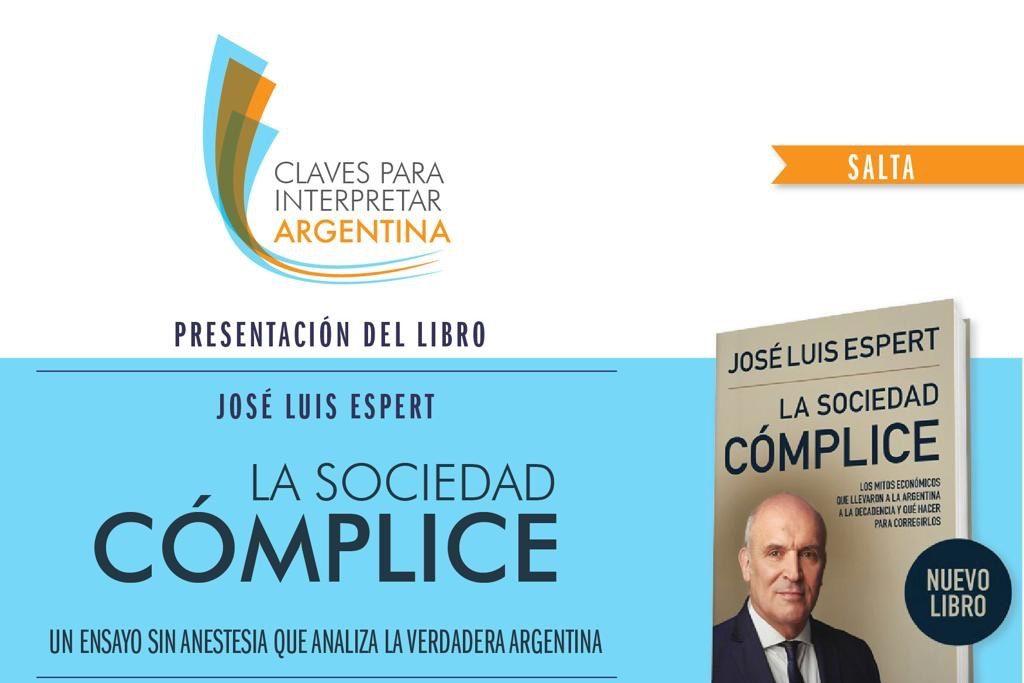 #SaveTheDate José Luis Espert en Salta