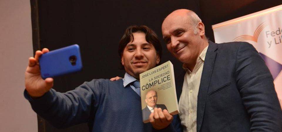 José Luis Espert presentó su más reciente libro en Jujuy