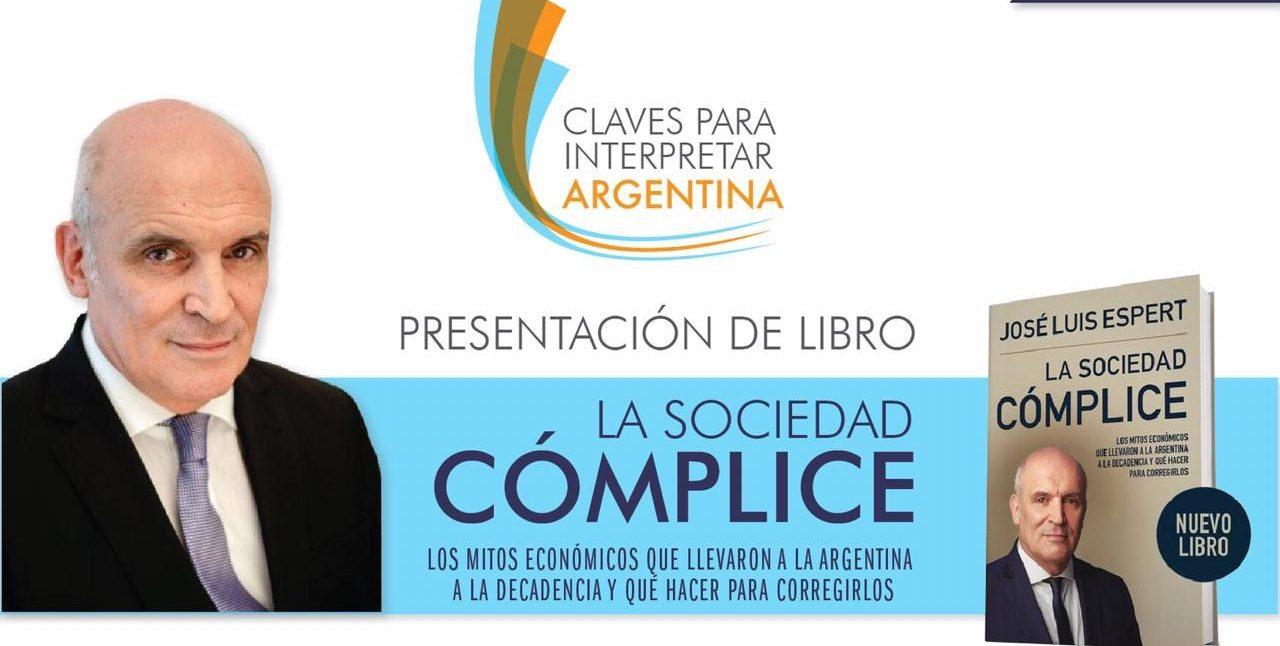 José Luis Espert presentará su último libro en Jujuy