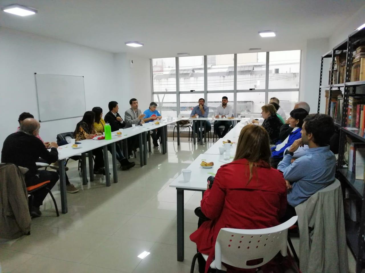 Encuentro con Tobías Gordillo, gerente de Empleo de la Nación en Tucumán
