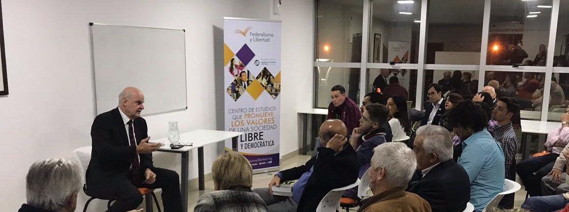 Alex Chafuen, director del Acton Institute Internacional visitó Tucumán.