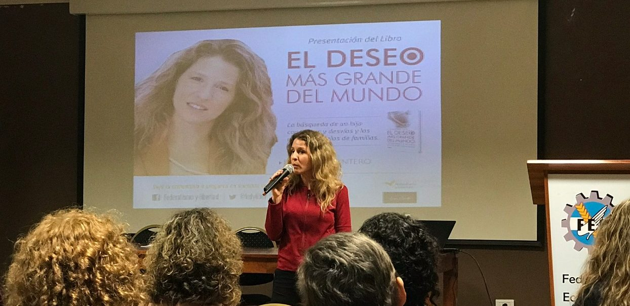 Luciana Mantero disertó en Misiones, Resistencia y Corrientes.