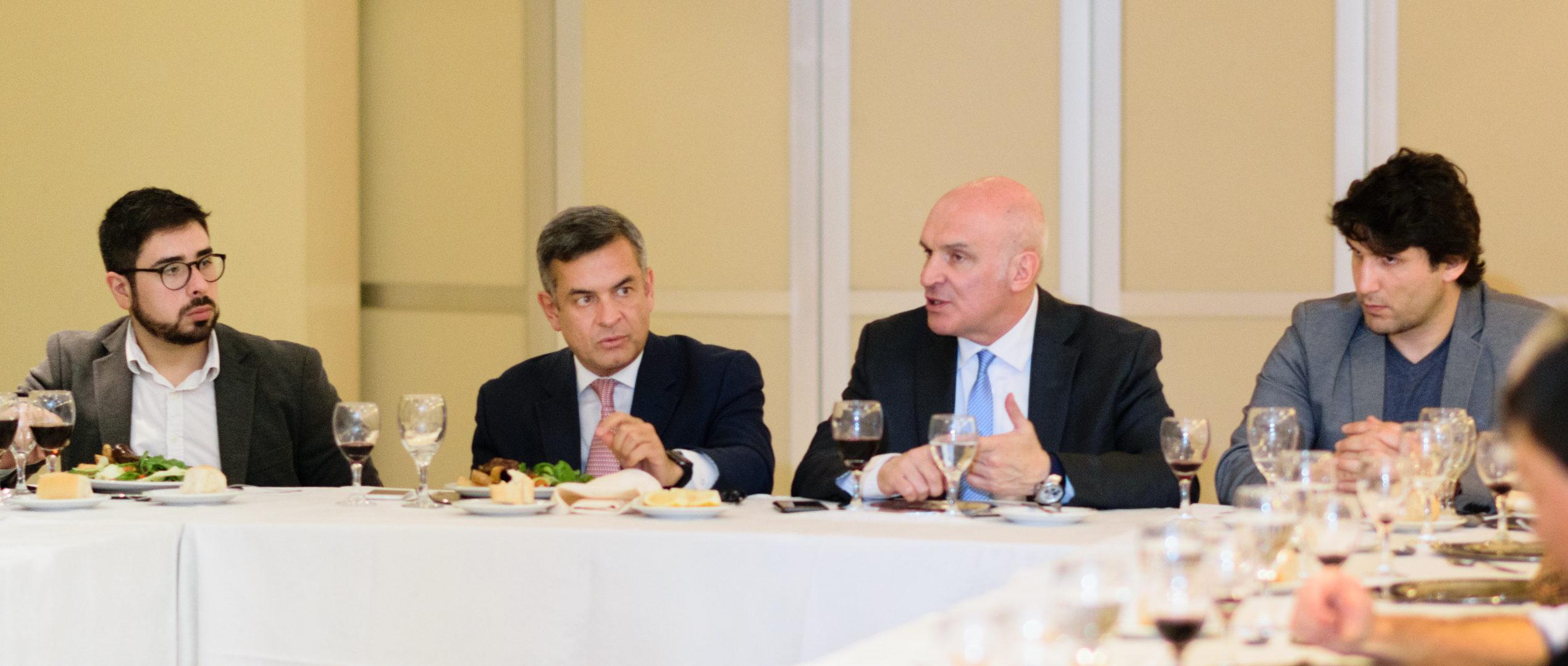Almuerzo de trabajo con José Luis Espert en Tucumán.