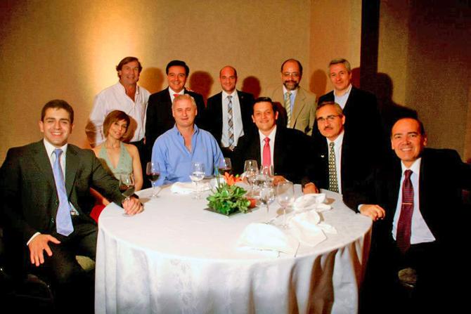 José Guillermo Godoy, Paul Bleckwedel, Luis Comba, Marcos Rouges, Pedro Garcia, Marcelo Caferro