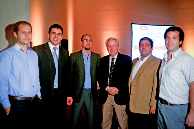 Juan Manuel Garreton, Roberto Avila, Martin Mendez Uriburu, Jose Guillermo Godoy