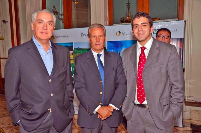 Daniel Lucci, José Manuel García Gonzalez y José Guillermo Godoy