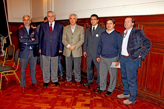 José Guillermo Godoy, Lopez Murphy, Daniel Lucci, Paul Bleckwedel