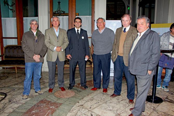 Jose Guillermo Godoy, Gerardo Anadon, Daniel Lucci, Pablo Lucci