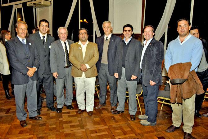 Jose Guillermo Godoy, Roberto Avila, Paul Bleckwedel, Manuel Courel, Martin Mendez Uriburu