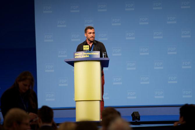 Konstantin Kuhle, Vice-Presidente Nacional de los Jóvenes Liberales (Junge Liberale).