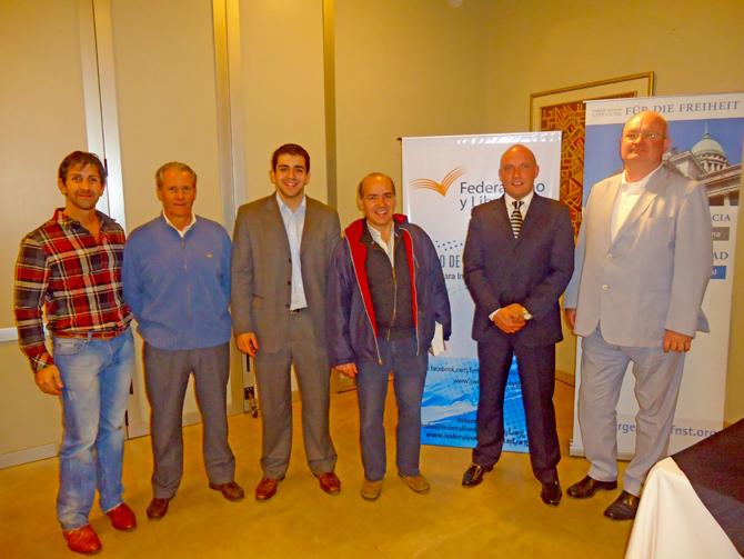 Sergio Feler, José Manuel García Gonzalez, José Guillermo Godoy, Marcos Rouges, Lars Janssen, Joerg Dehner