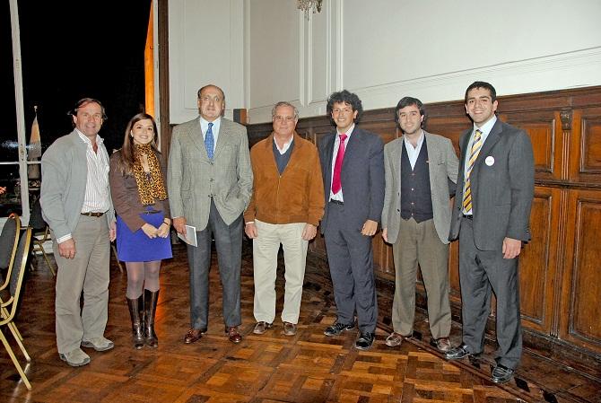 Paul Bleckwedel, Laura Costa, Victor Pereyra, Manuel Avellaneda, Nicolas Correa Posse, Arturo Forenza (h) y José Guillermo Godoy