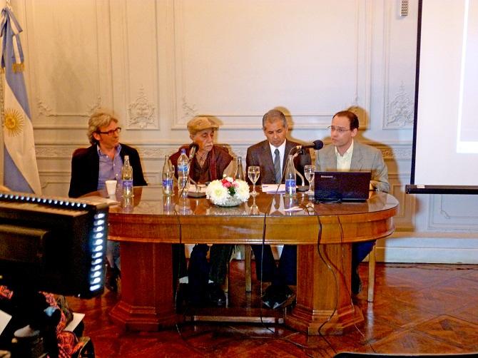 Eduardo Stordeur Victor Elias Osvaldo Meloni y José Bercoff
