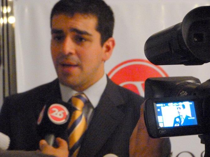 José Guillermo Godoy en Canal 26